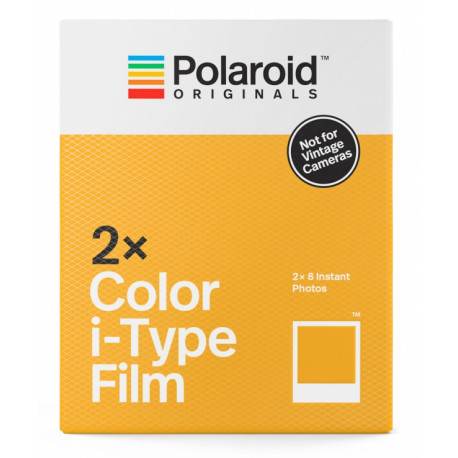 POLAROID ORIGINALS I-TYPE COLOUR FILM DOUBLE PACK