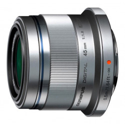 обектив Olympus ZD Micro 45mm f/1.8 MSC Silver (употребяван)