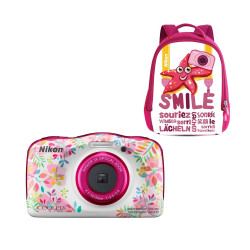 Camera Nikon Coolpix W150 Flower + Backpack