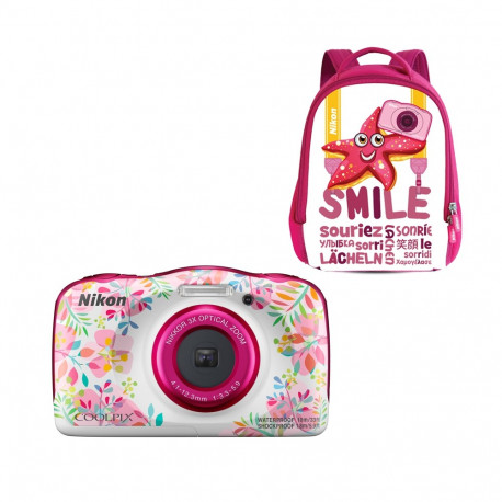 Nikon Coolpix W150 Flower + Backpack