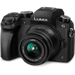 фотоапарат Panasonic Lumix G7 + Lumix G 14-42mm f/3.5-5.6 II MEGA OIS (употребяван)