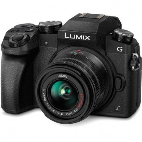 Panasonic Lumix G7 + Lumix G 14-42mm f/3.5-5.6 II MEGA OIS (употребяван)