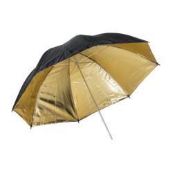 Umbrella Quadralite Gold reflective umbrella 91 cm