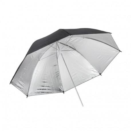 Quadralite Silver reflective umbrella 120 cm