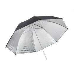 чадър Quadralite Сребрист отражателен чадър 91 см