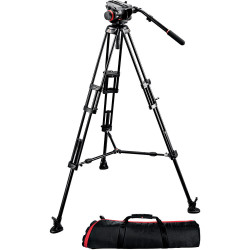 статив Manfrotto 504HD,546BK Midi Twin System (MS)