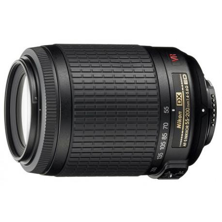 Nikon AF-S DX VR Zoom-Nikkor 55-200mm f/4-5.6G IF-ED (употребяван)