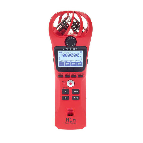 ZOOM H1N HANDY RECORDER LIMITED EDITION RED