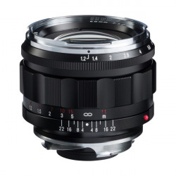 Lens Voigtlander 50mm f / 1.2 Nokton - Sony E
