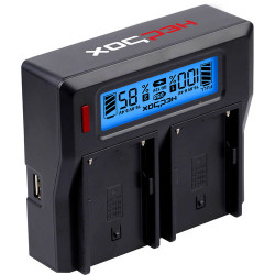 Charger Hedbox RP-DC50 LCD Dual