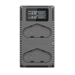 зарядно у-во Nitecore UCN4 Pro USB Charger - Canon LP-E4, LP-E4EN