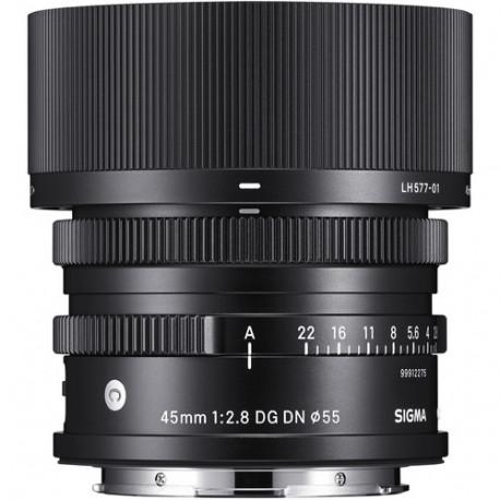Sigma 45mm F / 2.8 DG DN C Sony E-Mount