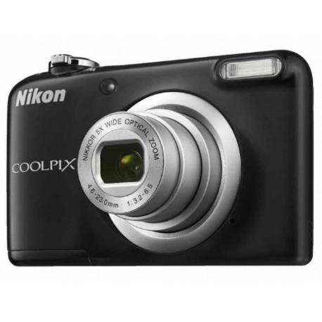 Camera Nikon CoolPix A10 (Black) + Memory card Nikon SDHC 4GB CLASS 6 + Charger GP GP CHARGER + 2AAX2000MAH