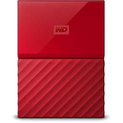 HDD Western Digital My Passport 4TB HDD Външна памет (червен)