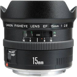 Lens Canon EF 15mm f / 2.8 Fisheye (used)