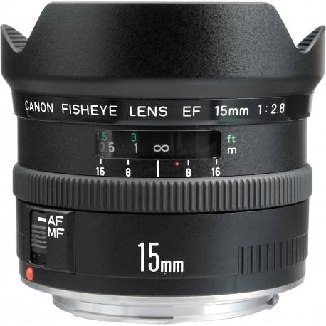 ????. CANON EF 15MM F/2.8 FISHEYE - SN: 95509