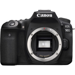 DSLR camera Canon EOS 90D + Lens Canon EF-S 18-200mm IS