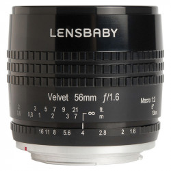 обектив Lensbaby Velvet 56mm f/1.6 за Nikon Z