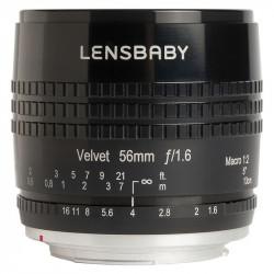 Lens Lensbaby Velvet 56mm f / 1.6 for Nikon Z