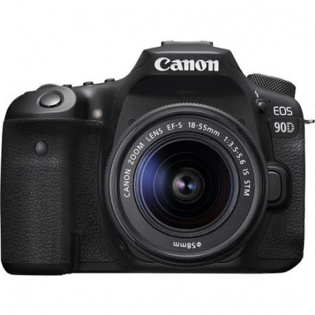 Canon EOS 90D + Lens Canon EF-S 18-55mm IS STM + Lens Canon EF 50mm f/1.8 STM