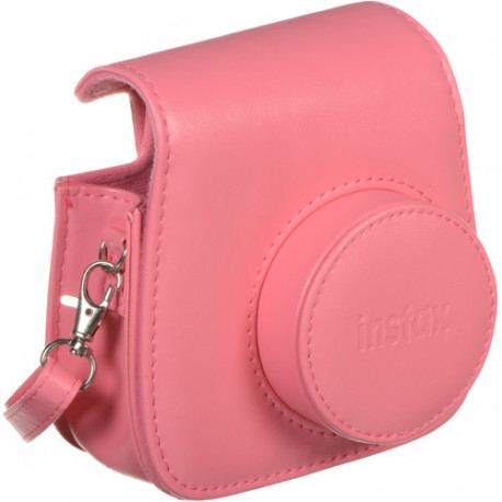 Instax Mini 9 Camera Case With Strap Flamingo Pink