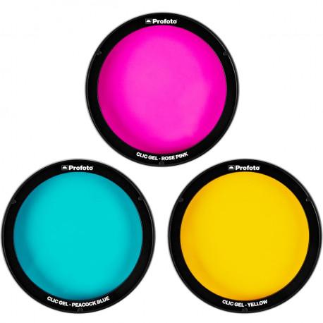 Profoto Clic Creative Gel Kit - color gel kit for Profoto C1 Plus, A1, A1X