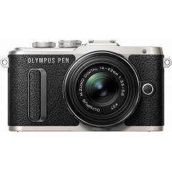 Camera Olympus PEN E-PL8 + Lens Olympus MFT 14-42mm f/3.5-5.6 II R MSC black