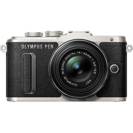 OLYMPUS PEN E-PL8 BLACK+14-42MM R KIT