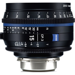 обектив Zeiss CP.3 15mm T/2.9 Compact Prime - PL