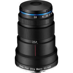 обектив Laowa 25mm f/2.8 2.5-5x Ultra Macro за Nikon F