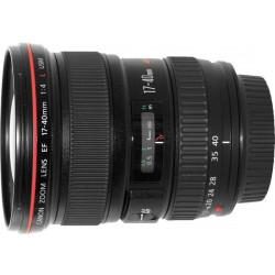 Lens Canon EF 17-40mm f / 4L USM (used)