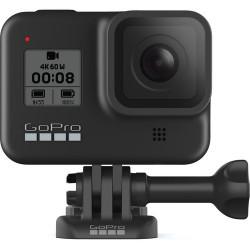 екшън камера GoPro HERO8 Black + аксесоар GoPro AJSST-004 Sleeve+Lanyard Hyper Orange за HERO8