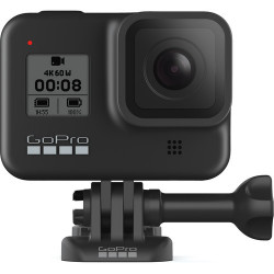 видеокамера GoPro HERO8 Black + зарядно у-во GoPro AJDBD-001-EU Двойно зарядно + Батерия за HERO8 /7 Black
