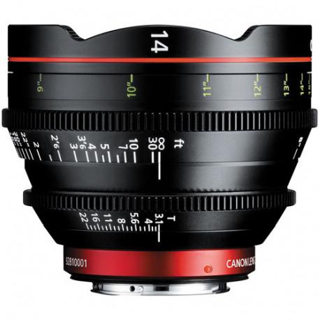 Canon CN-E 14mm T/3.1 L F