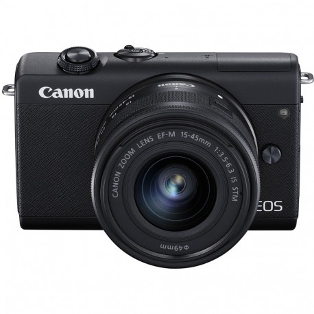 CANON EOS M200 BLACK+15-45MM KIT