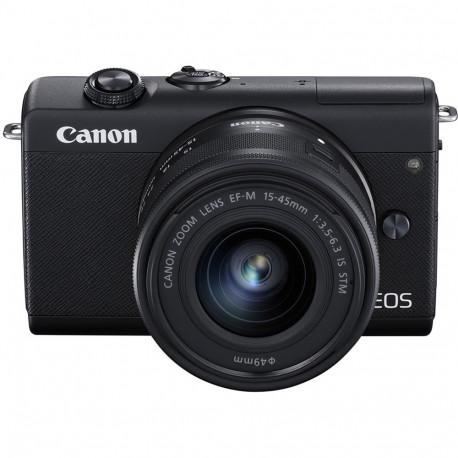 CANON EOS M200 BLACK+15-45MM KIT