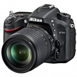 DSLR camera Nikon D7100 + Nikkor 18-105mm f / 3.5-5.6G ED V (used)