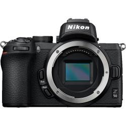 фотоапарат Nikon Z50 + адаптер Nikon FTZ адаптер (F обективи към Z камера) + обектив Nikon AF-S DX 35mm f/1.8G