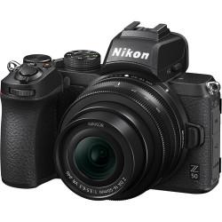 фотоапарат Nikon Z50 + обектив Nikon Z DX 16-50mm VR + адаптер Nikon FTZ адаптер + обектив Nikon DX 35mm f/1.8G