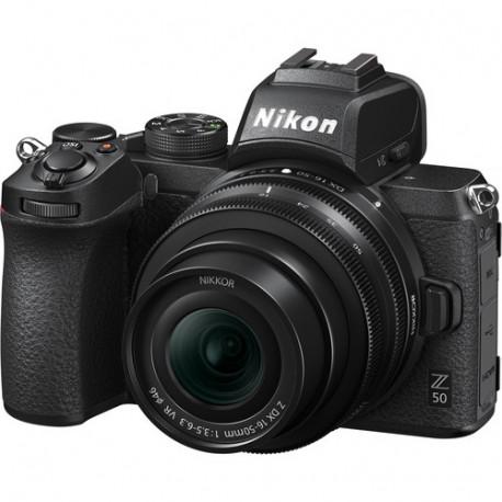 Nikon Z50 + Lens Nikon NIKKOR Z DX 16-50mm f / 3.5-6.3 VR + Lens Adapter Nikon FTZ Adapter (F Lenses to Z Camera)
