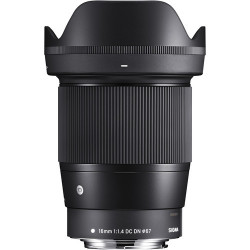 Lens Sigma 16mm f / 1.4 DC DN   C - Canon EOS M