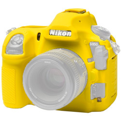 аксесоар EasyCover ECND850Y Силиконов протектор за Nikon D850 (жълт)