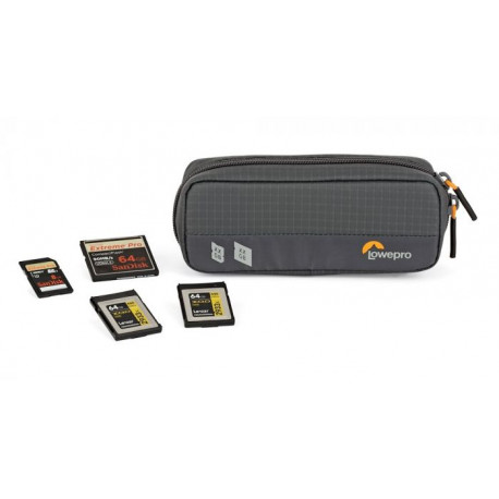 LOWEPRO GEAR UP MEMORY CARD WALLET 20 GREY