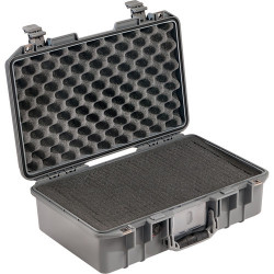 Case Peli 1485 Air with foam (gray)