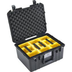 куфар Peli Case 1557 Air 015570-0040-110E с разделители (черен)