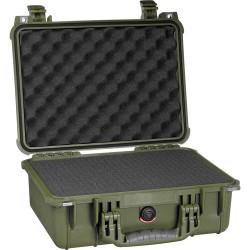 куфар Peli Case 1450 с пяна 1450-000-130E (зелен)