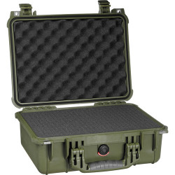 Case Peli Case 1450 foam 1450-000-130E (green)