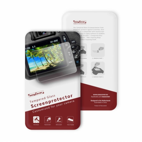 EASYCOVER GSPGH5 TEMPERED GLASS SCREEN PROTECTOR - PANASONIC GH5/GH5S