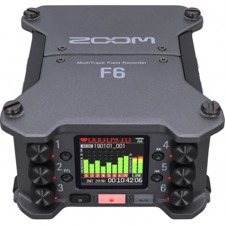 ZOOM F6 AUDIO RECORDER