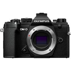 фотоапарат Olympus OM-D E-M5 Mark III (черен) + обектив Olympus MFT 45mm f/1.8 MSC + батерия Olympus BLS-50